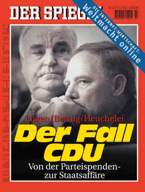der spiegel die helmut kohl titelbilder der 5 minuten blog. Black Bedroom Furniture Sets. Home Design Ideas