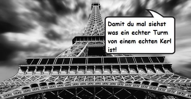 Macron Eiffelturm