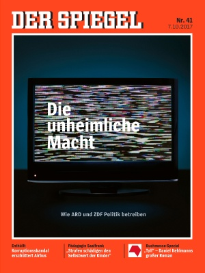 Mit dem SPIEGEL sieht man besser – Die TV-Titelbilder