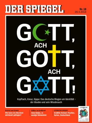DER SPIEGEL: Gott auf dem Cover