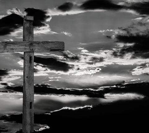 Mein Kreuz im Blog-Eingangsbereich