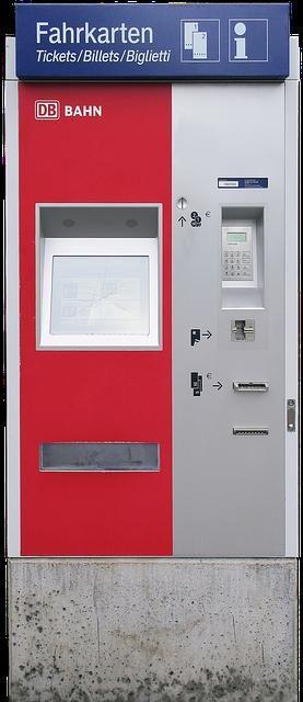 Fahrkartenautomat des Grauens