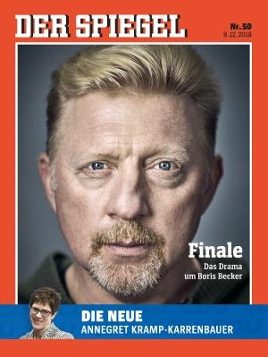 SPIEGEL Cover Boris Becker
