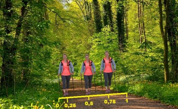 Nordic Walking Spaziergang