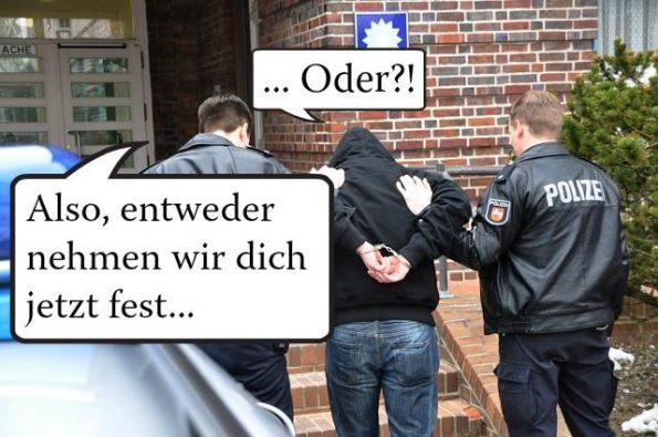 Polizei Bewerber